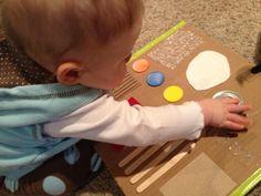 Teach Me, Mommy! - Homemade Baby Sensory Board