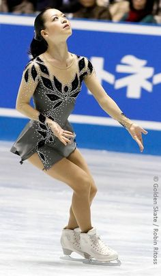 Suzuki Akiko ~ Love her to pieces. Such a beautiful soul, which is made completely apparent each time she steps onto the ice to share her gift. Really hope to see her doing her thing in Sochi. :)