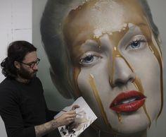 Mirando al mundo con sentimientos: Pinturas hiperrealista de Mike Dargas
