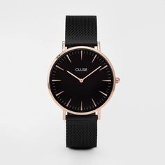 La Bohème Mesh Rose Gold Black/Black