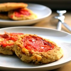 Sweet Corn and Tomato Pancakes recipe