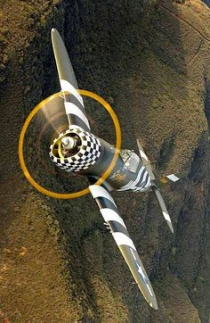 P-47 Thunderbolt, built by Republic. There are 105,895 rivets in a P-47. If I had to fly World War 2 combat... I'd do so in a P-47.