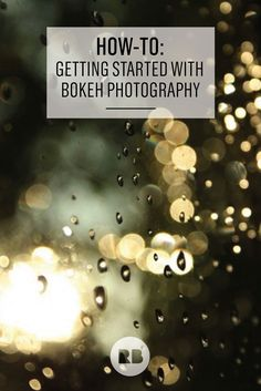 "Bokeh comes from the Japanese word boke (ボケ), which means ""blur"" or ""blur quality."" Learn how to easily get started with creating your own bokeh-effect photography with 3 steps on the Redbubble blog. Add this gorgeous lighting effect to your favorite shots for a dazzling, romantic look."