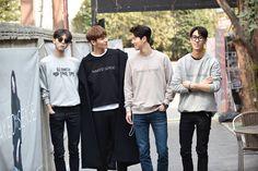Joo Woo Jae, Lee Chul Woo, Shin Ji Hoon and Kim Pill Su for NAKED SENSE Presentation