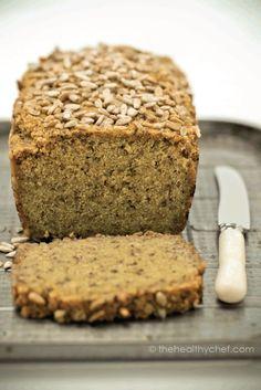 Gluten free chia & quinoa bread