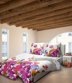 janine messina 4760 05 rose overtrek roos bloem kussen rolkussen kleur roze rose wit katoen. Black Bedroom Furniture Sets. Home Design Ideas