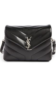 Saint Laurent Toy Loulou Calfskin Leather Crossbody Bag Saintlaurent Bags Shoulder