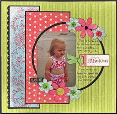 Check out the NEW and fun summer papers from Little Yellow Bicycle. This is the Sharon Ann line which was included in the fabulous June kit from My Creative Scrapbook. This is also based on one of my sketches which is also in the kit. Baby Girl Scrapbook, Kids Scrapbook, Scrapbook Templates, Scrapbook Designs, Scrapbook Paper Crafts, Owl Templates, Applique Templates, Christmas Scrapbook, Applique Patterns