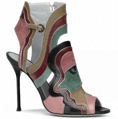 95d82e24ef2ac Sergio Rossi collezione calzature e borse primavera estate 2010