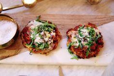 Gluten- och laktosfri pizza med mozzarella och tryffel