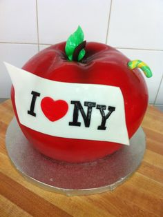 Big Apple Cake by Whippt Desserts & Catering Craft Wedding, Apple Cake, Canapes, Grooms, Macarons, Special Events, Catering, Sculpting, Wedding Cakes