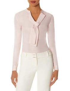 Neck-tie blouse - $69.95 - the limited.com
