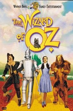The Wizard of Oz. A truly iconic movie. Who didn't watch this growing up? And who doesn't know all the words to the songs!!