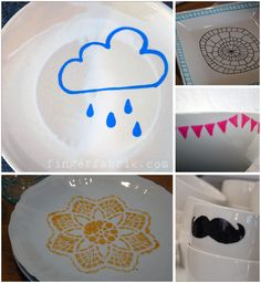DIY: Upcycling old plates by fingerfabrik.com