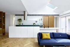 via heavywait - modern design architecture interior design home decor & Bungalows, Living Area, Living Spaces, Engineered Timber Flooring, Light Hardwood Floors, Built In Ovens, Duplex, Clem, Blog Deco
