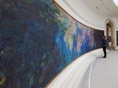 Les Nymphéas (Monet), Musée de l'Orangerie, Paris by Leonardo Azevedo (trotatorres), via Flickr
