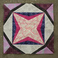 April Lucky Stars BOM block   Flickr - Photo Sharing!