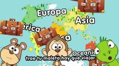 Canción de los continentes - Canciones Infantiles - Doremila Teaching Science, Teaching Kids, Continents And Countries, Music Activities, New Class, Teaching Spanish, Kids Songs, Social Studies, Childrens Books