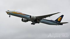 We love this Boeing 777 captured by Mel! Have interesting Jet Airways aircraft pictures? Send them to us, now! Jet Airways, Boeing 777, Aircraft Pictures, Airplane, Fan, Plane, Fans, Airplanes