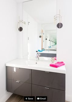 Ikea Vanity Powder Room