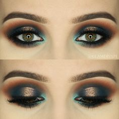 Check out our favorite Satellite on Peacock inspired makeup look. Embrace your cosmetic addition at MakeupGeek.com!
