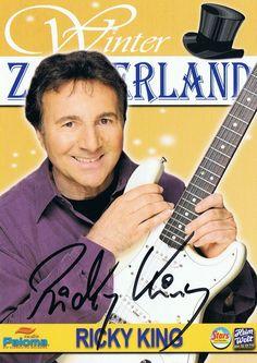 autogrammkarten album   Startseite Autogramme Sänger-/in Ricky King