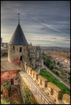 """Cité de Carcassonne ~ this was an amazing village .. We stayed in the hotel in the city for 4 days ~ walking around """" the walled city """" and experiencing life as is was in the 13th century was an experience I will never forget ! Cannot wait to return someday :-)"""
