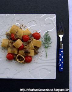 Daniela&Diocleziano: Anelli con melanzane perline , pomodorini di Pachino…