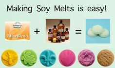 Make your own Soy Tarts to fragrance your home!