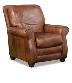 Carmen Houston small brown leather recliners $630.  Need to call to get dimensions