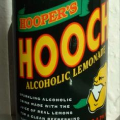 Hooch - a readily available welcome relief from cider!