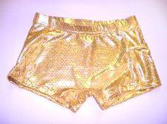 c5c611e703 Ultimate Sparkle Gold Metallic Mystique   Sequins Briefs. Icupids Lycra  Shorts