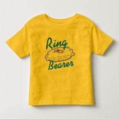 Ringbearer Toddler T-shirt