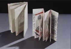 Handmade books by Hedi Kyle