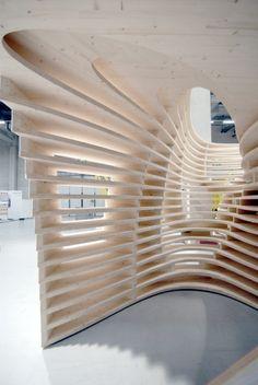 lignum pavilion by frei + saarinen architekten