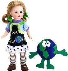 Madame Alexander Wendy Loves Planet Earth