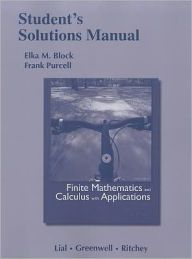 Student Solutions Manual for Finite Mathematics and Calculus with Applications / Edition 9 by Margaret L. Lial Download