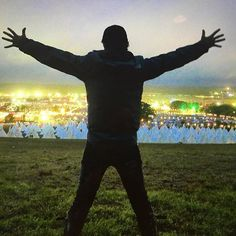 Once again another magical experience at #Glastonbury comes to an end... Unique, otherworldly, inspiring and revitalizing. Loved being ONE with 300,000 other lovers of life. Gives me faith in the possibilities for all of us... Lars #glastonbury2016 @glastofest