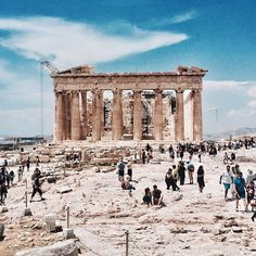 Acropolis by @luismiguelcs      #athens #greece