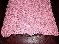Elegant & Easy Old Shale Baby Blanket
