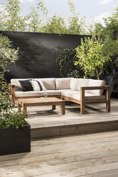 Tuin design loungeset Design lounge set for in your garden K… – Furnishings Outdoor Sofa, Outdoor Spaces, Outdoor Living, Outdoor Decor, Design Lounge, Design Set, Modern Design, Design Ideas, Design Inspiration