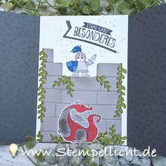 Ritterburg Karte mit Zauberhafter Tag von Stampin´Up!