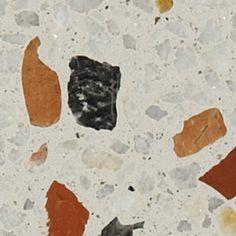 Losas y Terrazos de la Serie 600 con áridos de varias medidas   Mosaics Planas