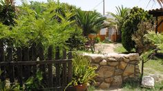 Vistas exteriores de la casa rural en Barbate
