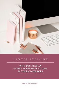 The Entire Agreement clause is a typical clause in many kinds of agreements, but it is a very important one to have. Read why you shouldn't ignore it! Business Tips, Online Business, Contract Law, Legal Advisor, Corporate Social Responsibility, Marketing Techniques, Starting A Business, Blog Tips, Blogging