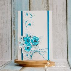 Card Using Altenew Stamps and Distress Ink + Video Tutorial - Creative Scrapbooking