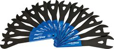 TL8750 Park Tool SCW-SET.3 Cone Wrench Set 13-24, 26, and 28mm, Blue/Silver