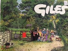 GILES ANNUAL 33: 33rd Series  Political & Satirical Cartoons, Published 1979-1st