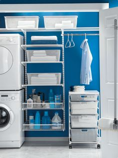 Laundry room storage / organisation