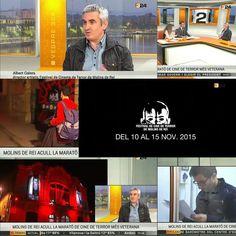 El #terrormolins al 3/24 amb una entrevista en directe a Albert Galera Director Artístic del Festival de Cine de Terror de Molins de Rei. #molinshorror #terrormolins2015 #molinshorrorfestival #moritz #lapeni #molinsderei #12horesdeterror